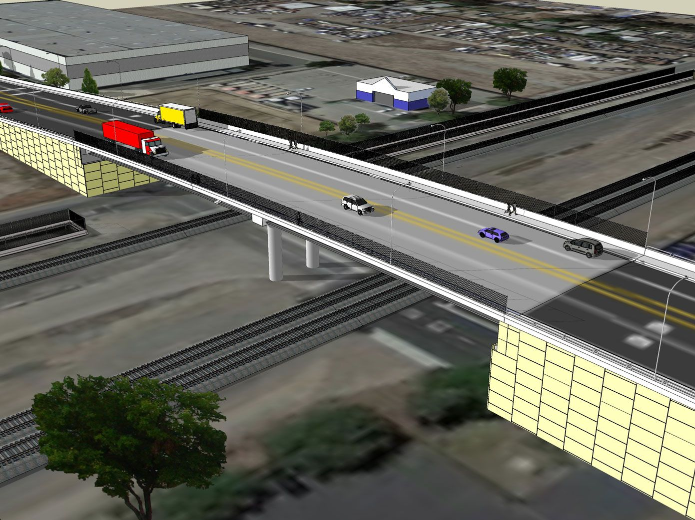 Monte Vista Avenue Grade Separation