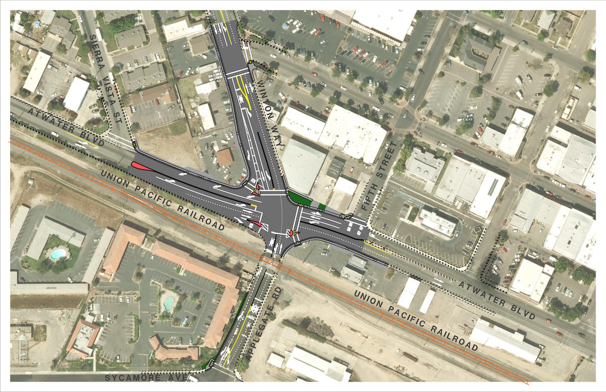 Applegate Road / Atwater Blvd / Winton Way Intersection Improvements