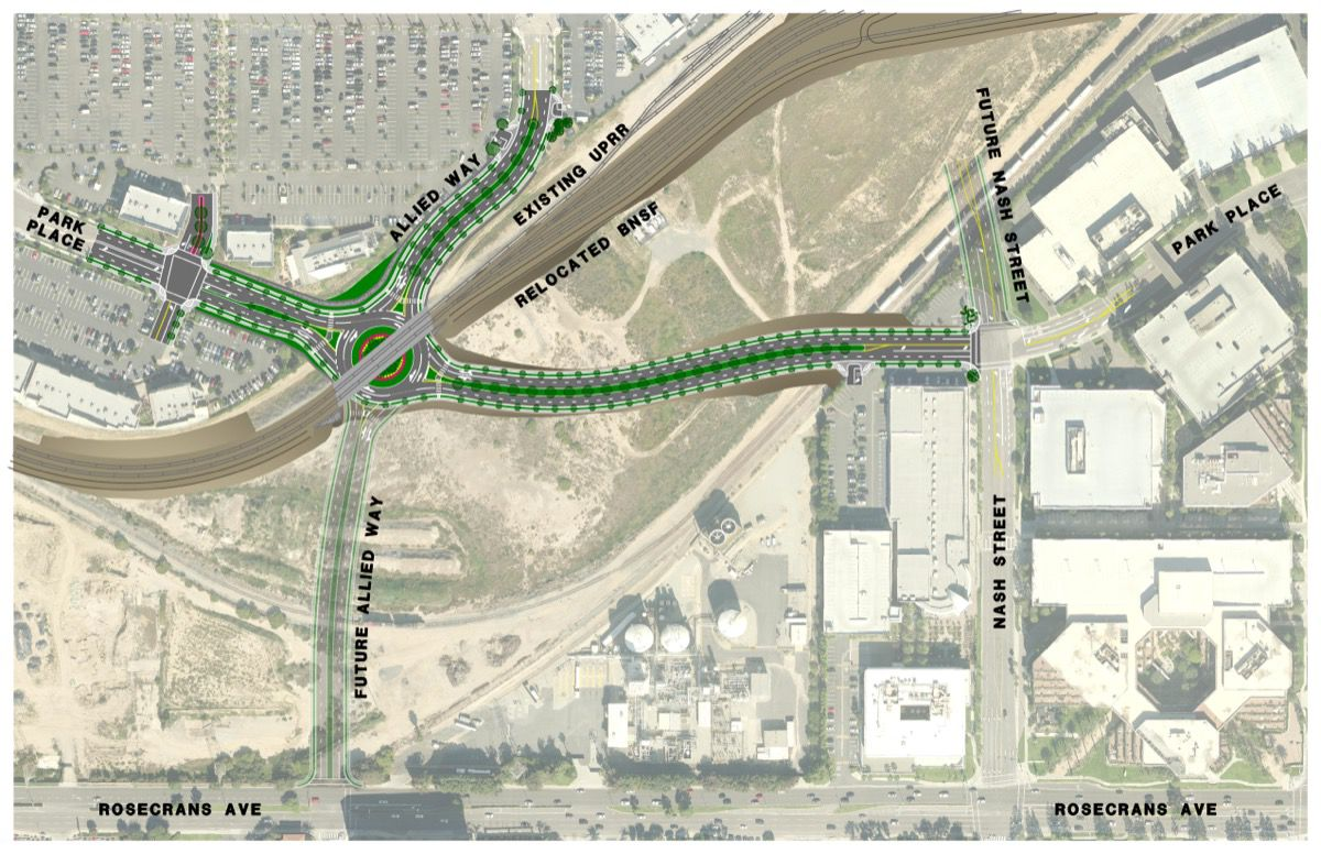 Park Place Extension and Grade Separation