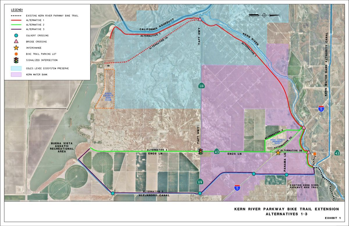 Kern River Parkway Trail Extension